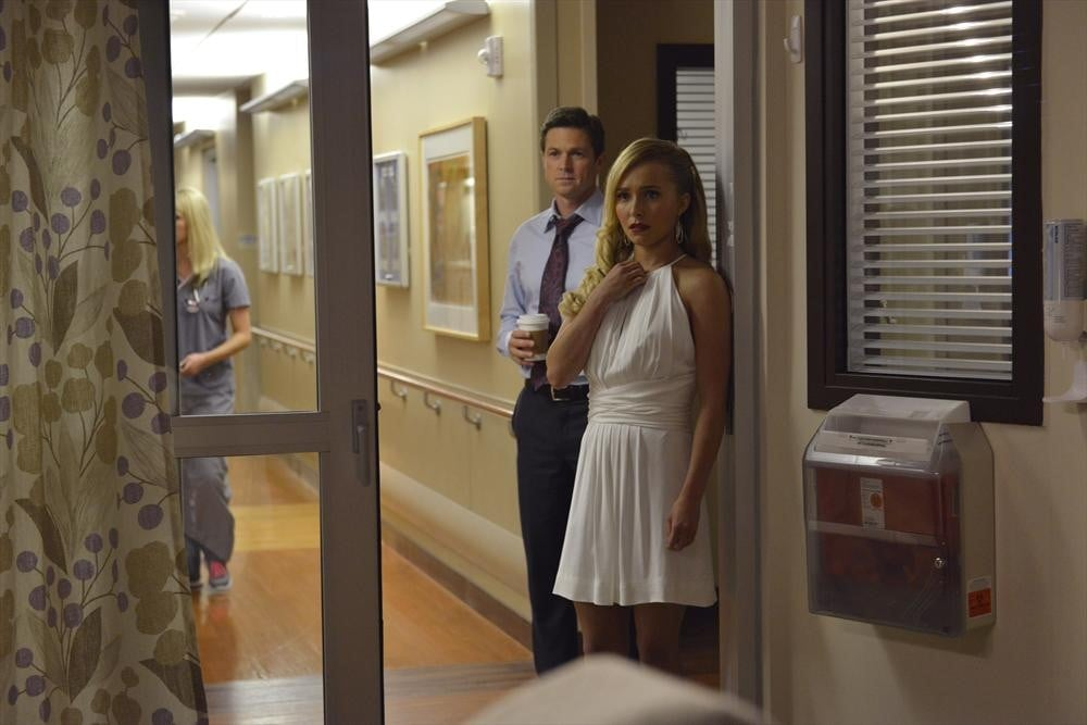 Eric Close and Hayden Panettiere on Nashville.