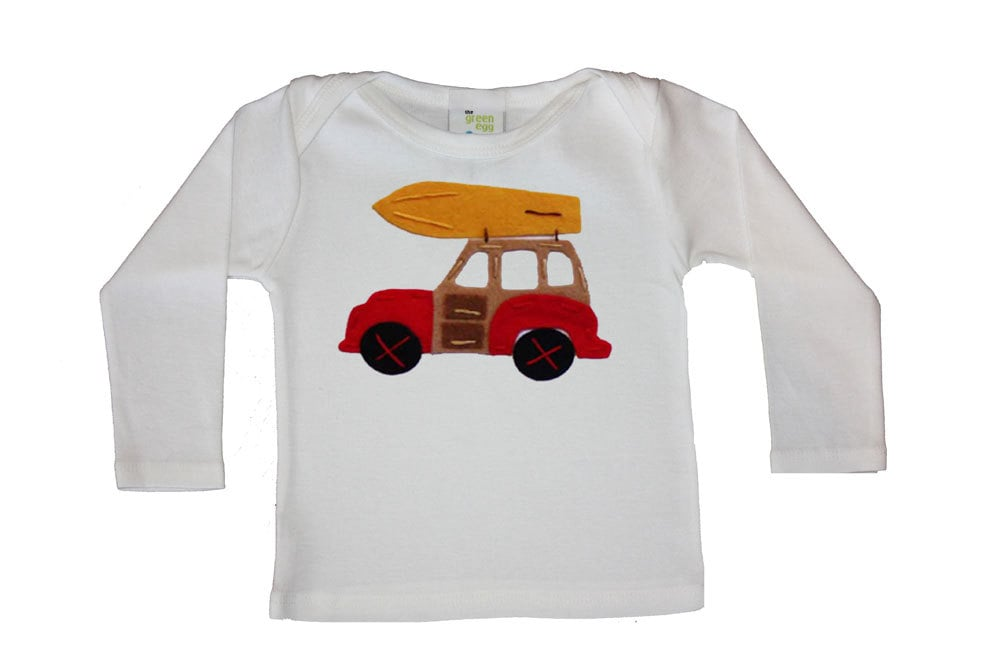 Woody With Surfboard Shirt ($24)
