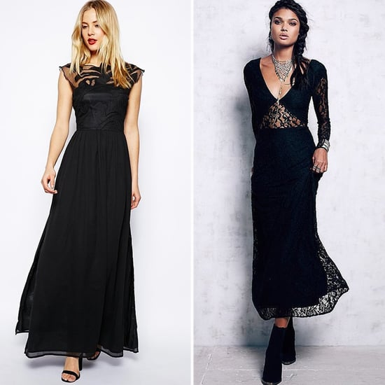 Best Black Gothic Maxi Dresses