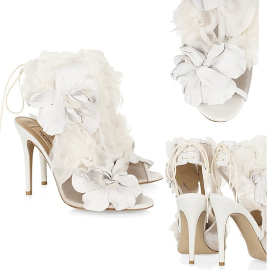 Wedding Shoes: Valentino Floral Heels