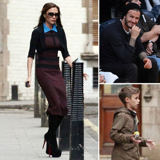 Victoria and the Kids House Hunt in London as David Preps For His Galaxy Farewell