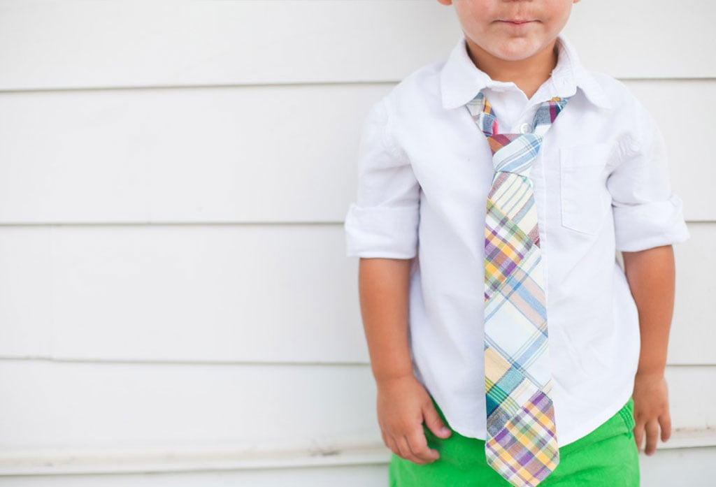 For His First Neckwear