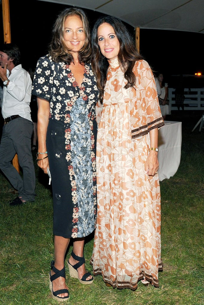 Talk about a print-perfect duo! Kelly Klein and Jill Stuart shared the frame in feminine floral designs.