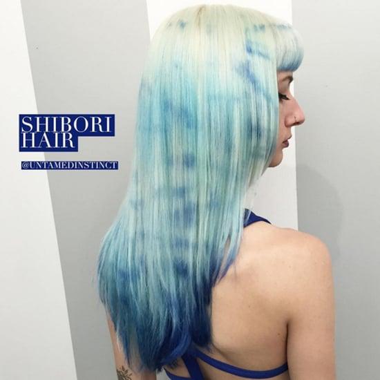 Tie-Dye Hair Colour Trend