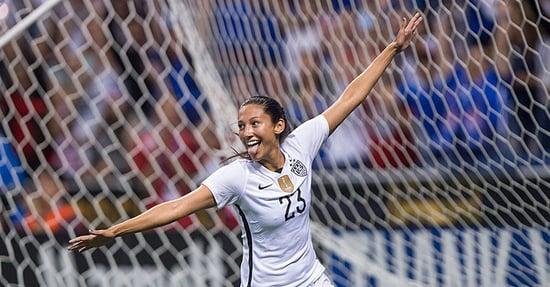 We Tested Soccer Star Christen Press On Her Fitness IQ