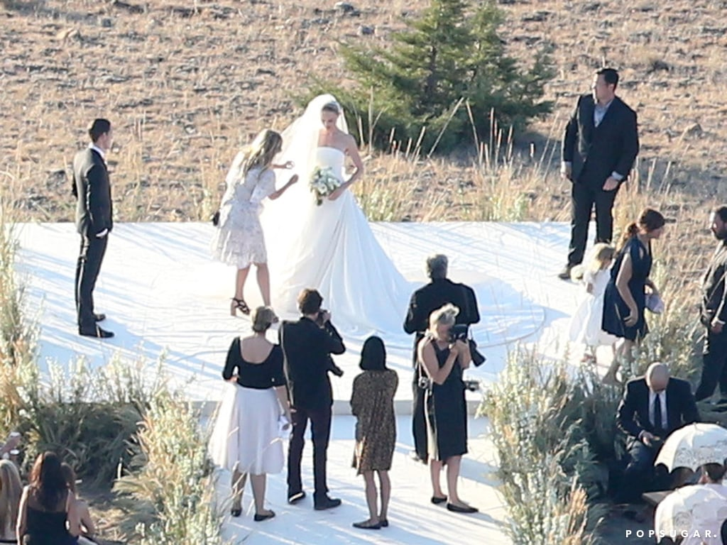 Kate Bosworth married Michael Polish in Montana.