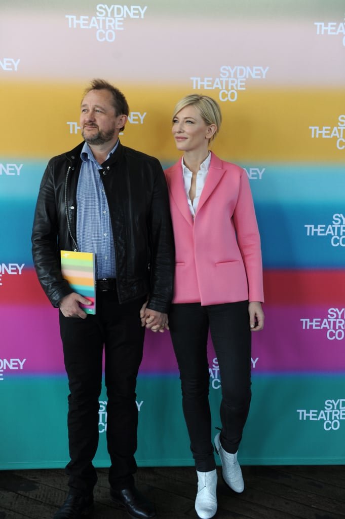 Sometimes Cate stars in plays put on by her husband, a playwright.
