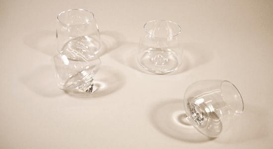 Rikke Hagen Cognac Glasses For Normann Copenhagen