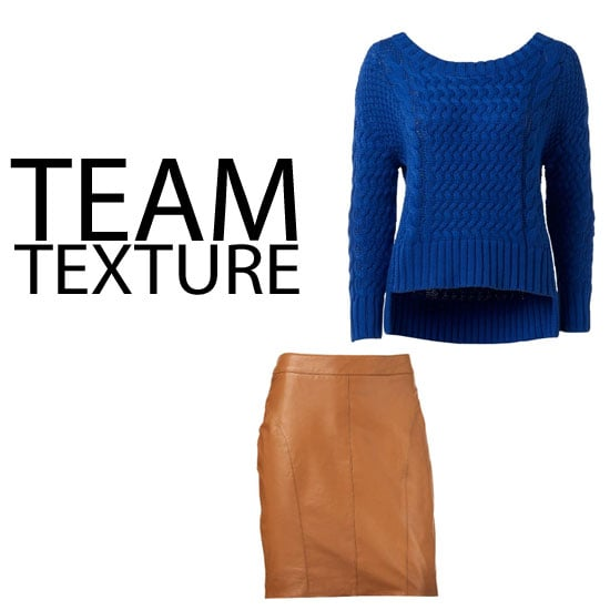 Trend to Try and Buy: Leather and Textured Statment Knits: Shop Our Online Edit from sass & bide, Country Road, Sportsgirl & mor
