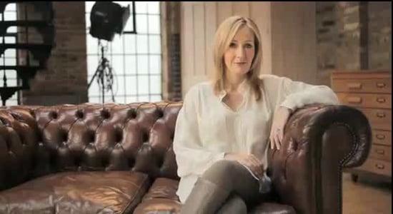 JK Rowling Reveals Pottermore