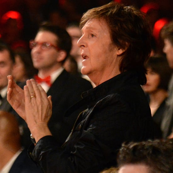 Paul McCartney Dancing Alone at the 2015 Grammys