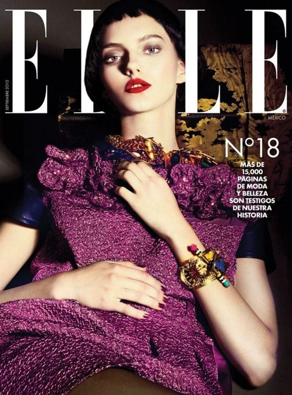 Elle Mexico September 2012