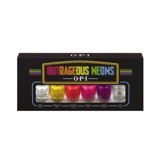 OPI Outrageous Neons Deluxe Mini Collection, $39.95