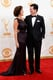 Stephen Colbert and his wife, Evelyn, shared a look of love at the Emmys.