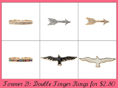 Fab Find: Forever 21 Double Finger Rings