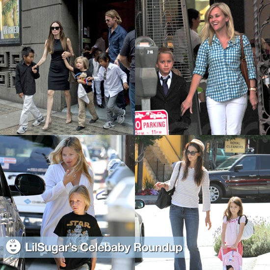 Celebrities and Their Children Pictures