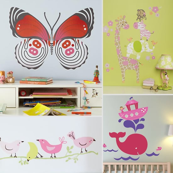 So Sweet: 8 Wall Decals For Girls' Rooms