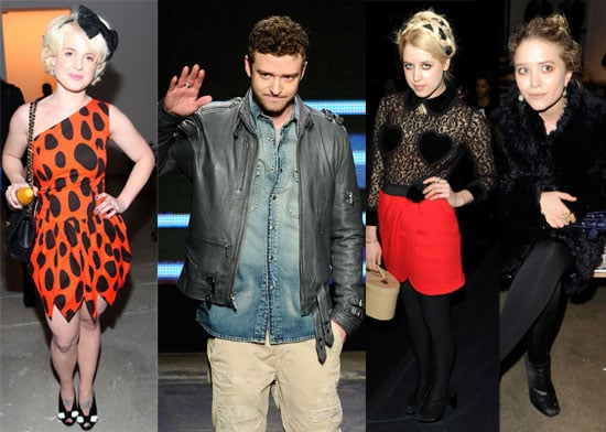 Photos of All the Celebrities in the Front Row at New York Fashion Week in Bryant Park