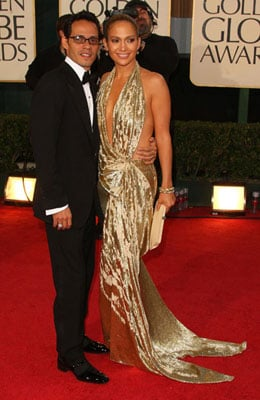 Photos of Jennifer Lopez and Marc Anthony At The 2009 Golden Globe Awards