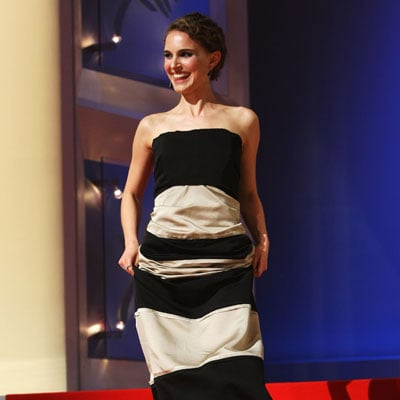 Natalie Portman at the Cannes Film Festival's Closing Ceremony