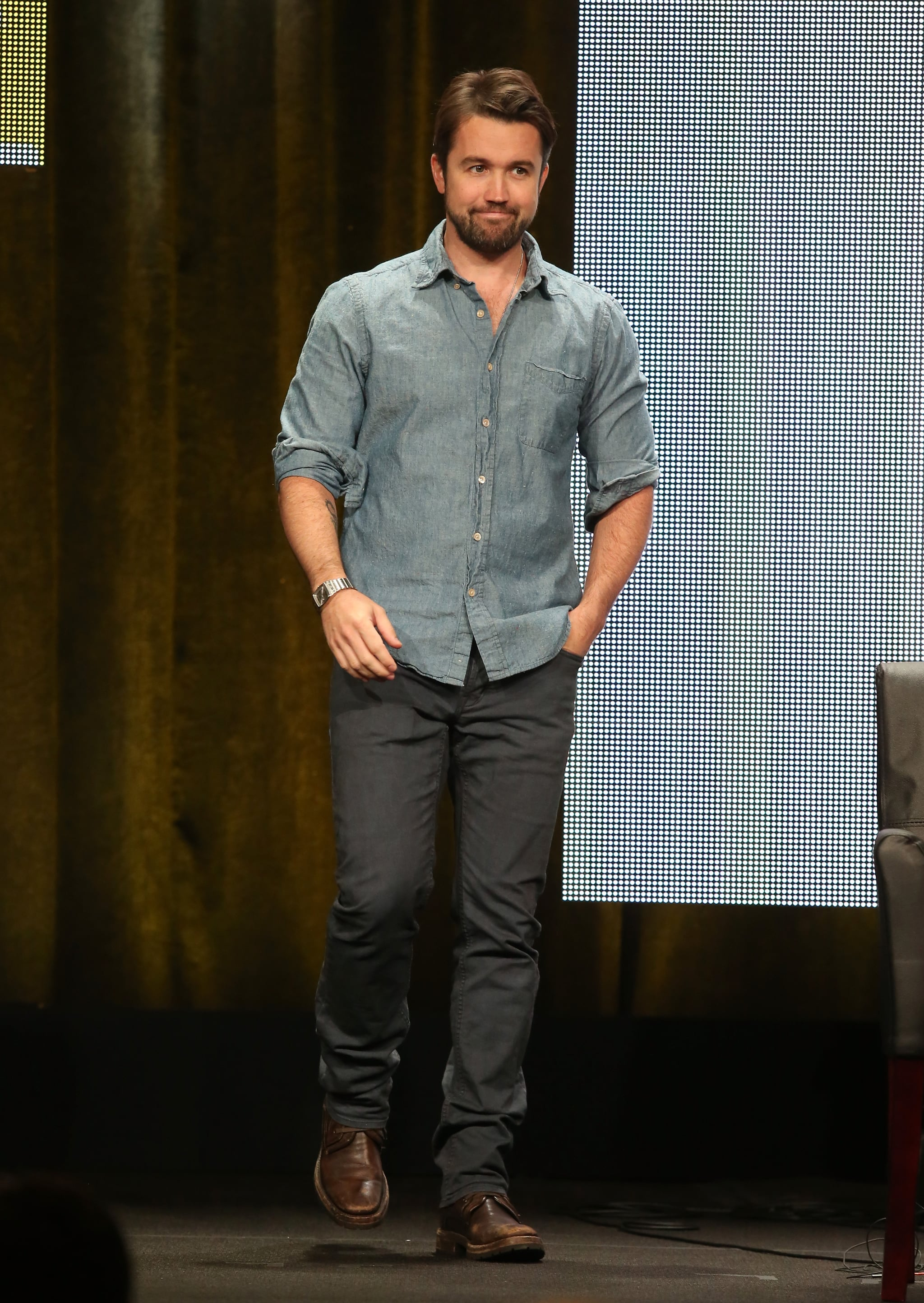 Rob McElhenney dished about the new season of It's Always Sunny in Philadelphia.