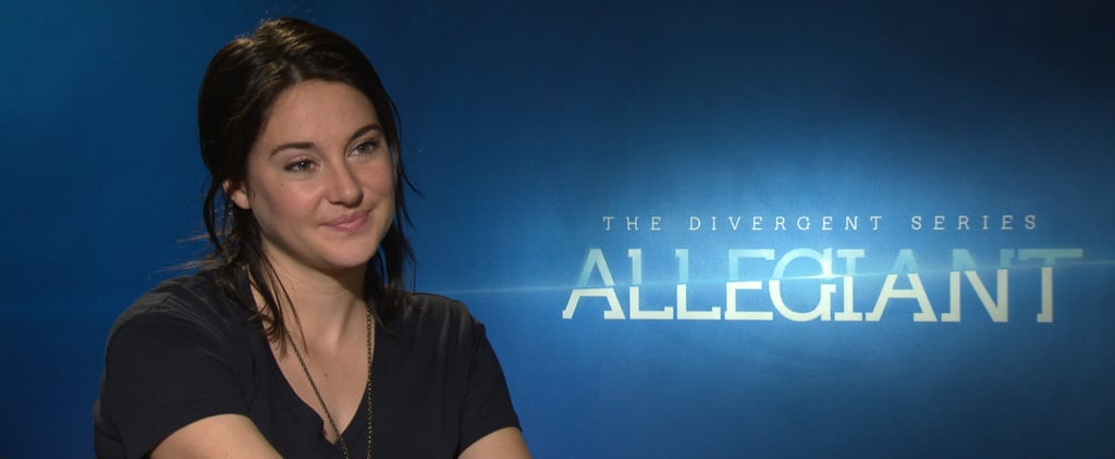 The 1 Thing Shailene Woodley Says She Doesn't Have in Common With Tris