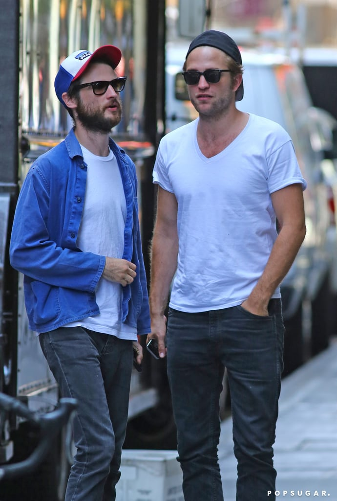 Robert Pattinson and Tom Sturridge Give Us a Double Dose of Scruffy Hotness