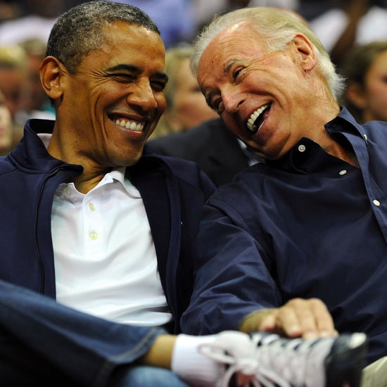 Pictures of Barack Obama and Joe Biden