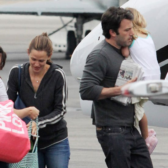 Pictures of Jennifer Garner and Ben Affleck With Violet and Seraphina
