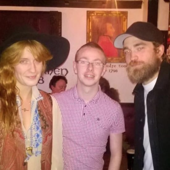 Robert Pattinson Goes Bar Hopping With Florence Welch, Because Why Not?
