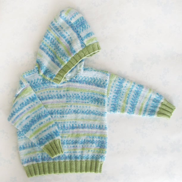 Toddler Sweater With Hood ($52)