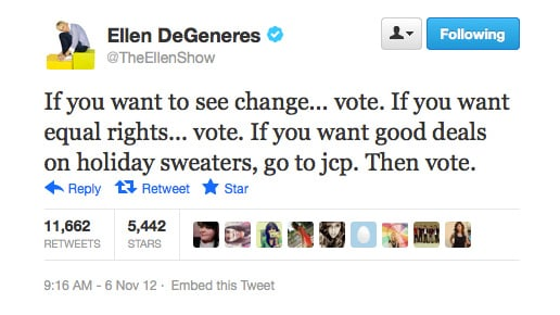 Ellen knows all!