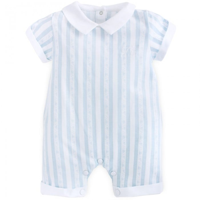 Dress your little guy in Alex and Alexa's Stripe Shortall ($84) for a cute Spring holiday look.