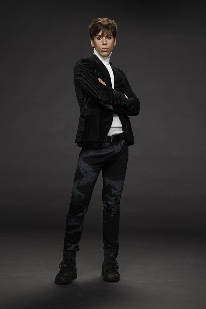 Jordan Gavaris as Felix. Source: BBC