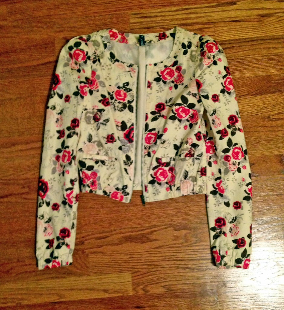 My Floral Bomber