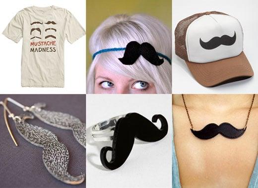 Mustache Hair Accessories