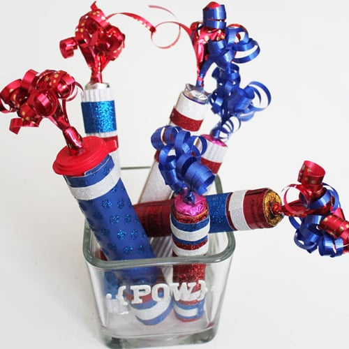 Fourth of July Fireworks Crafts For Kids