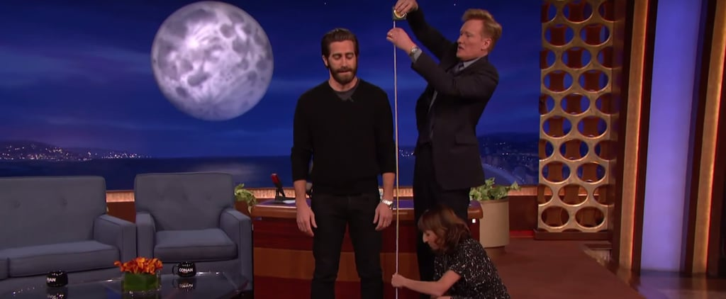The Mystery of Jake Gyllenhaal's Height Has FINALLY Been Solved . . . Right?