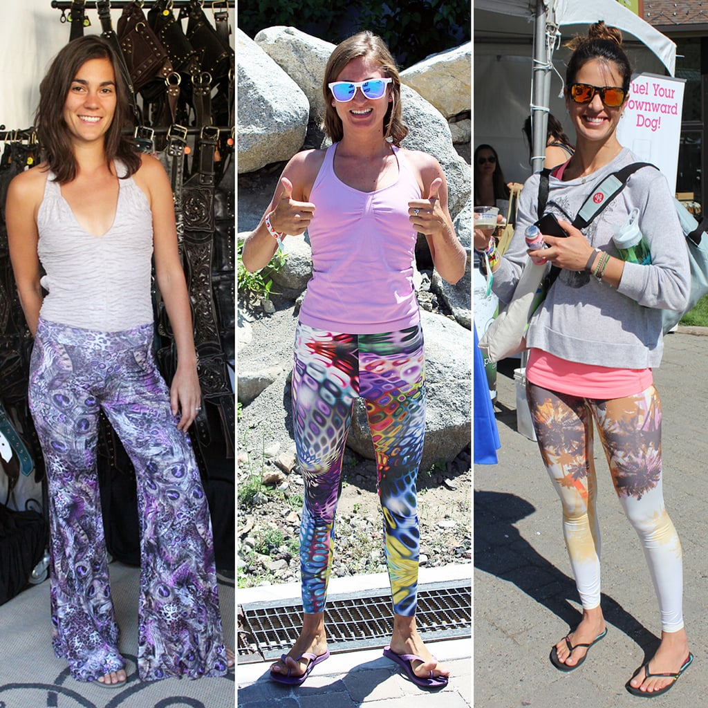 Yoga Pants With Prints - White Pants 2016
