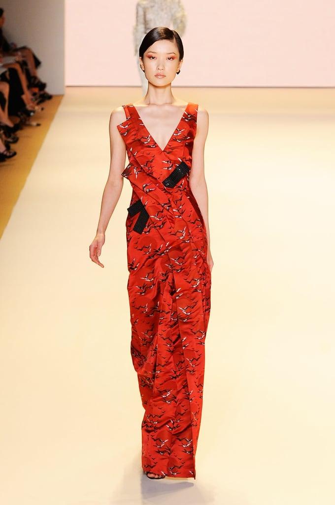 2011 Spring New York Fashion Week: Carolina Herrera
