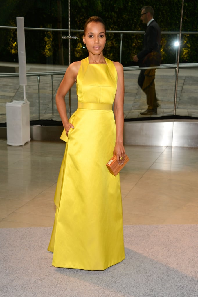 Kerry Washington arrived at Lincoln Center for the CFDA Fashion Awards.