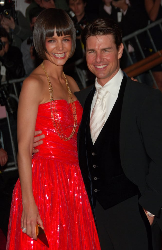 Katie Holmes and Tom Cruise — 2008