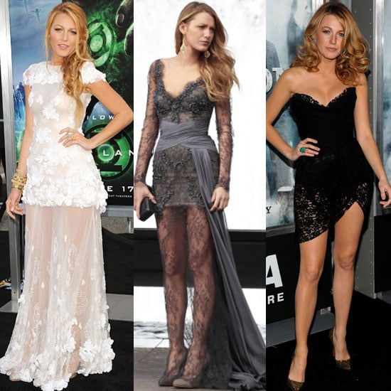Which of Blake Lively's Lace Overlay Dresses Do You Like Best?