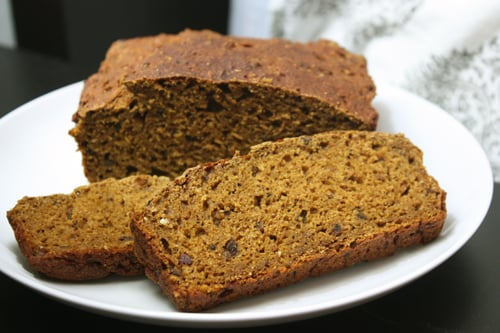Pumpkin Loaf Bread