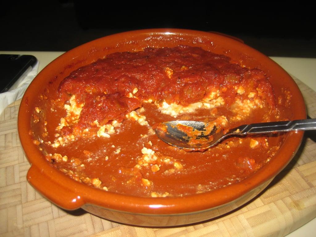 Baked Feta with Marinara