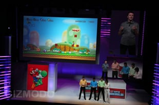 Nintendo Announces New Mario Game For the Wii and DSi Photo Integration With Facebook