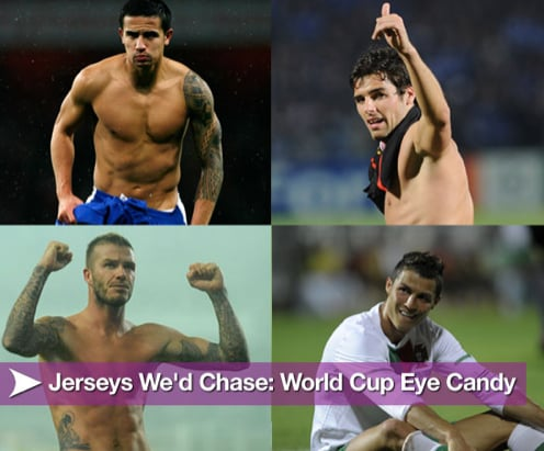 Hot, Shirtless, World Cup Soccer Players!