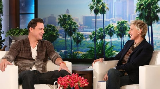 Channing Tatum Debuts 'Magic Mike XXL' Trailer, Talks Dancing in Thongs on 'Ellen'