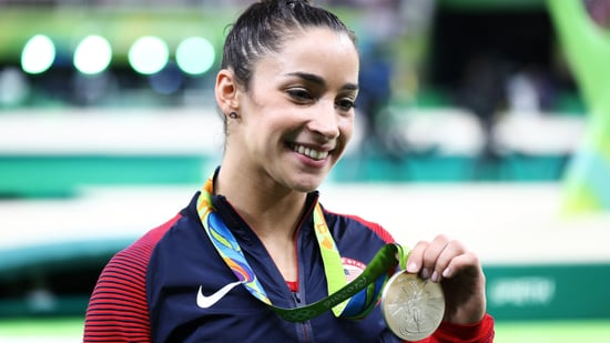 Aly Raisman Makes Her Own Olympic Love Connection -- With an NFL Player!