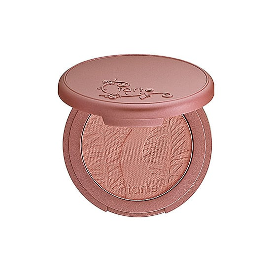 Blush that doesn't evaporate or put on too much sparkle? That's why I'm obsessed with Tarte Amazonian Clay 12-Hour Blush in Adored ($26), a shimmery light pink.  — MLG